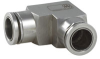 """Push-To-Connect Fittings -- 1/4"""" ODTube –1/4"""" ODTube, Elbow, Fixed Position - PTCUL"""