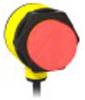 INDICATOR; MULTI COLOR; GREEN, RED, YELLOW; 4 PIN EURO PIGTAIL; 10-30VDC; PNP -- 70167584