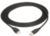 Universal Serial Bus (USB) Cable, Version 2.0, Passive Extension Cable, Type A–Type A, 3-ft. (0.9-m) -- USB05E-0003