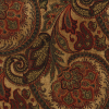 Floral Paisley Medallion Chenille Fabric -- R-Omar -- View Larger Image
