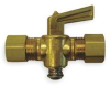 Ground Plug Valve,1/4 In,30 PSI,Brass -- 1VPZ7 - Image