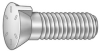 Bucket Tooth Bolt,#7,,7/8-9x5 1/2,Plain -- 1CGD9 - Image