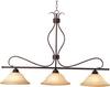 Basix 3-Light Pendant -- 10127WSOI