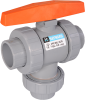 Manual Ball 3 Way Valves -- TW Series