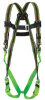 Miller E850D Blue Universal Vest-Style Shoulder Padding Body Harness - Duraflex Webbing - 612230-13339 -- 612230-13339