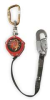 Fall Limiter,9 Ft,Red,Alum,Poly Strap -- 1XET5