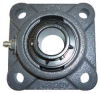 Mounted Bearing,4-Bolt Flange,1 In -- 5RYJ6 - Image