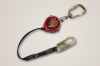 Miller Scorpion Personal Fall Limiter - w/ carabiner & swivel shackle, snap hook, ANSI A10.32 compliant > UOM - Each -- PFL-4/9FT -- View Larger Image