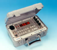 An advanced microprocessor based and battery powered micro-ohmmeter in a sealed ABS case. The 5893 provides 0.1 µOhm resolution resistance measurements in 6 selectable ranges.