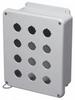 Pushbutton Enclosure -- HW-N4X12PBW - Image
