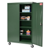 All-Welded Mobile Storage Cabinet -- T9H257896GN