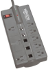 8-outlet, 8-ft Cord, 2160 Joule, RJ11 and Coaxial Protection - Protect It! Surge Suppressor -- TLP808TELTV