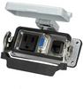 Panel interface connector Mencom DP1-DB9-RJ45-16LS