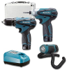 Makita LCT305 10.8V Li-Ion 3 Tool Combo Kit 3/8