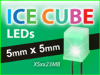 ICE CUBE LEDs -- XSxx43MB Series