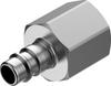 Quick coupling plug -- NPHS-S6-M-G12F - Image