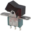 Switch, Miniature Rocker, SPDT, ON-NONE-ON -- 70152381 - Image