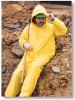 Pro-Wear(TM) Value Suits; Yellow PVC on polyester suit; Size XXXL -- 076490-51960