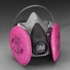 3M Half Facepiece Respirator Assemblies,6000 -- 665513521