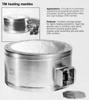 TM Glass Fabric Mantle -- 100B TM116S - Image