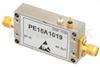 40 dB Gain, 25 dBm IP3, 0.8 dB NF, 11 dBm P1dB, 1 GHz to 2 GHz, Low Noise High Gain Amplifier SMA -- PE15A1019 -Image