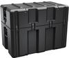 Pelican AL3620-1710 Single Lid Truck Shipping Case - No Foam with Casters - Black -- PEL-AL3620-1710RPC032 -Image