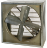 Belt Drive Cabinet Fan with Auto Shutters -- TEFC* 230/460V