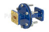WR-90 Waveguide Bulkhead Adapter CPR-90G Flange, 8.2 GHz to 12.4 GHz -- PEWAD5015 -Image