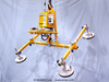 Four Pad Air Powered Vacuum Lifter with Powered Tilt -- ATL25M4-48-2/44FP