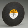 Foundry Gold Reinforced Aluminum Oxide Abrasive -- Cut-off Wheels