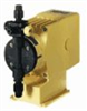 Manual control solenoid diaphragm metering pump, 2.5 GPH, 115 VAC -- EW-74513-20