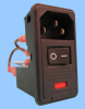 3 Function Double Fuse Power Entry Module; Wired -- 83543510 - Image