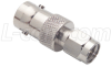 Coaxial Adapter, BNC Female / SMA Male -- BA29