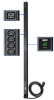 Single-Phase Metered PDU, 3.2-3.8kW 16/20A 200-240V, 0U Vertical Rackmount, 6 C19 and 32 C13 Outlets, C20 Inlet with NEMA L6-20P Input Cable -- PDUMV20HV