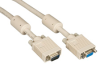 VGA Video Cable with Ferrite Core, Beige, Male/Female, 25-ft. (7.6-m) -- EVNPS06-0025-MF