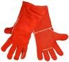 Global Glove Red Large Split Kevlar/Leather Welding Glove - Wing Thumb - 1200E LG -- 1200E LG