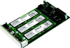 XMC-PCIeSor High Speed PCIe Gen 2 Triple M.2 SSD Adapter