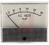 Voltmeter, AC; 0 to 150 V; Polarized-Vane Solenoid; Polystyrene; + 5% -- 70136676 - Image
