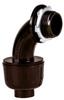 Sealproof Black Nonmetallic Liquid-Tight 90 Conduit Connector -- 55014 - Image