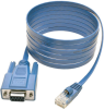 6 ft RJ45 to DB9F Cisco Serial Console Port Rollover Cable -- P430-006 - Image