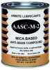 Armite Lubricants Mica Based Anti-Seize Compound Gray 1 lb Can -- AASC-M-2 1LB CAN -Image