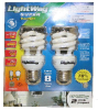 Toolway (Lightway) 140401 Energy Saving Spiral Light Bulbs -- LIGHTBULBENE9W