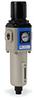 Pneumatic / Compressed Air Filter-Regulator: 3/8 inch NPT female ports -- AFR-3333-D - Image