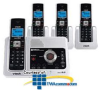 Vtech DECT 6.0 Cordless Phone System with Four Handsets,.. -- LS6125-4