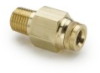 F2PMTB Male Connector - Metric Tube/Pipe -- F2PMTB8-1/8