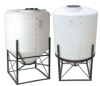 Large Cone Bottom Polyethylene Tanks -- 11702