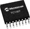 Four-Channel CMOS LDO with Select Mode, Shutdown and Independent Reset -- TC1307 -Image