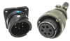 Composite, Reverse Bayonet Coupling, Harsh Environment, Power RADSOK® Sockets -- GT Reverse Bayonet Series