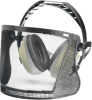 Elvex BrushGuard w/27dB NRR Equalizer Earmuffs and Face -- HB-7000