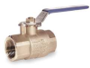 Ball Valve, Brass,2 In NPT,Full Port -- 1JBB2